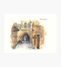 Old Town Alleys (Altstadtgassen) Art Print
