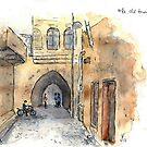 Old Town Alleys (Altstadtgassen) by Jens Notroff