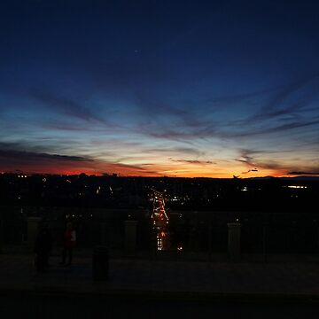 Sunset Madrid by CiaoBella