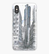 Hong Kong. Wan Chai Burrows Street iPhone Case