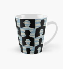 """after Rene Magritte pattern """"Decalcomania"""" Tall Mug"""