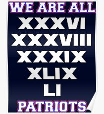 We are All Patriots Poster