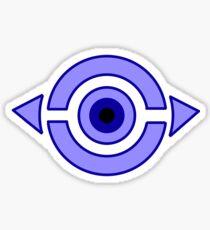 Invader ZiM Swollen Eyeballs Sticker Sticker