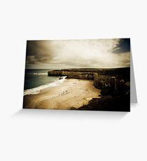 The Shipwreck Coast, Great Ocean Road, Victoria Greeting Card
