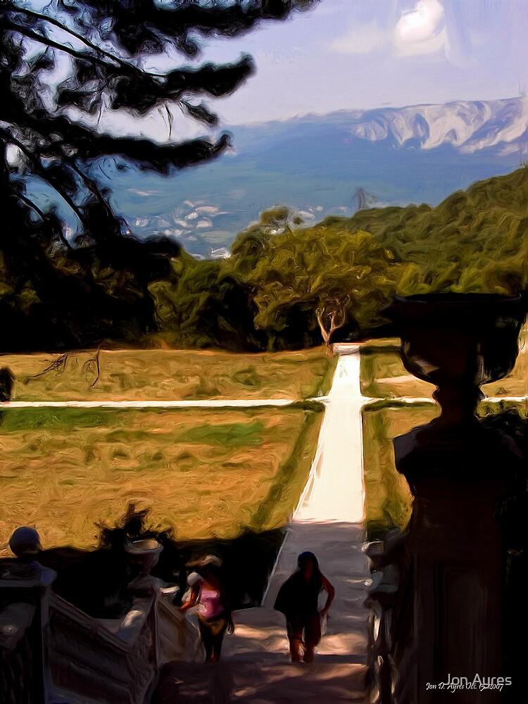 Walkway to Massandra Palace by Jon Ayres