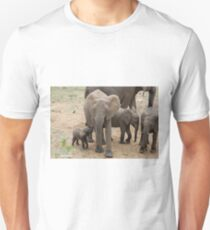 A BABY NEEDS FEEDING -  THE AFRICAN ELEPHANT – Loxodonta Africana Unisex T-Shirt