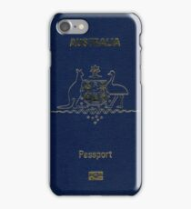 Australian Passport  iPhone Case/Skin
