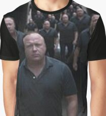 Alex jones and his minions prepare to vaporize you Graphic T-Shirt
