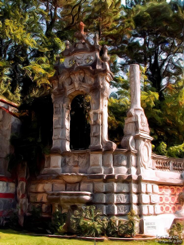 The Retaining Wall of Massandra Palace1 by Jon Ayres
