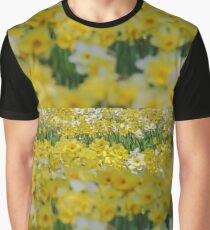 Daffodils blooming in Spring Graphic T-Shirt