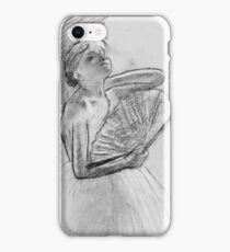 Edgar Degas - Dancer With A Fan iPhone Case/Skin
