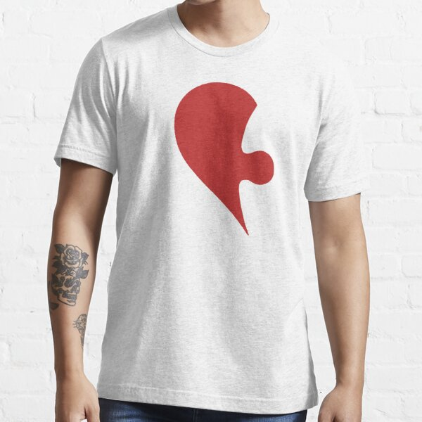 Puzzle Pieces Love Heart Essential T-Shirt