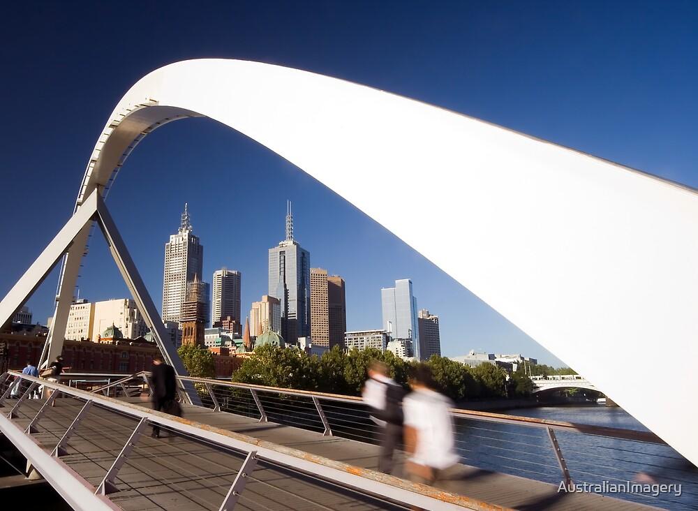 Southgate Footbridge, Melbourne by AustralianImagery