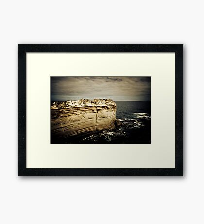 The Razor Back, Great Ocean Road, Victoria Framed Print