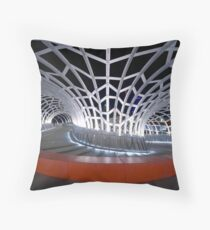 Webb Bridge, Melbourne Throw Pillow