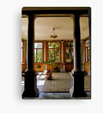 Waiting for an audience with the Tsar Canvas Print