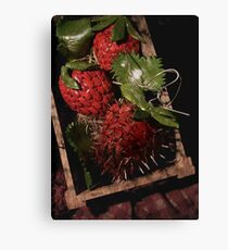 Mouthwatering Canvas Print