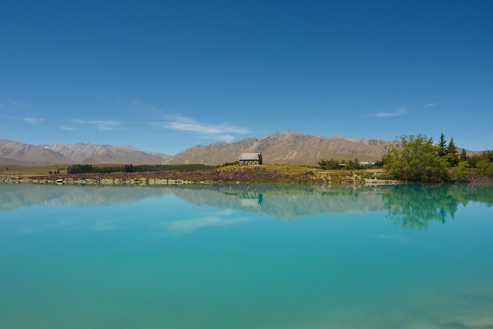 Lake Tekapo by Trent Wallis