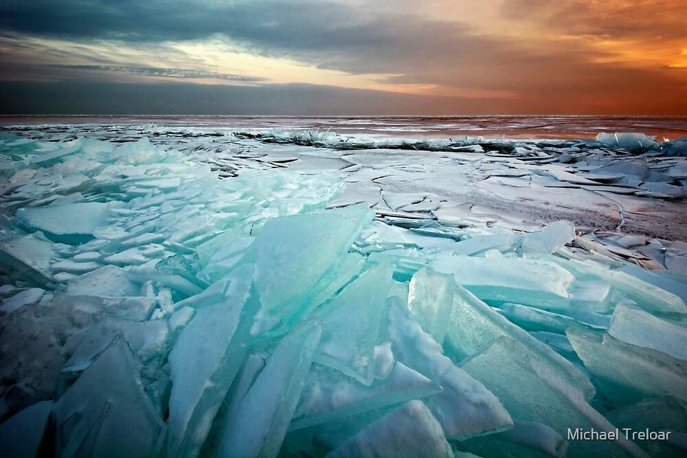 Ice Flow II - Lake Superior by Michael Treloar