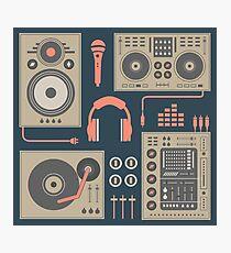 DJ-Plattenspieler-Set Fotodruck