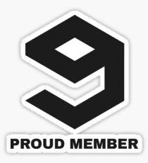 Pegatina Miembro orgulloso de 9gag
