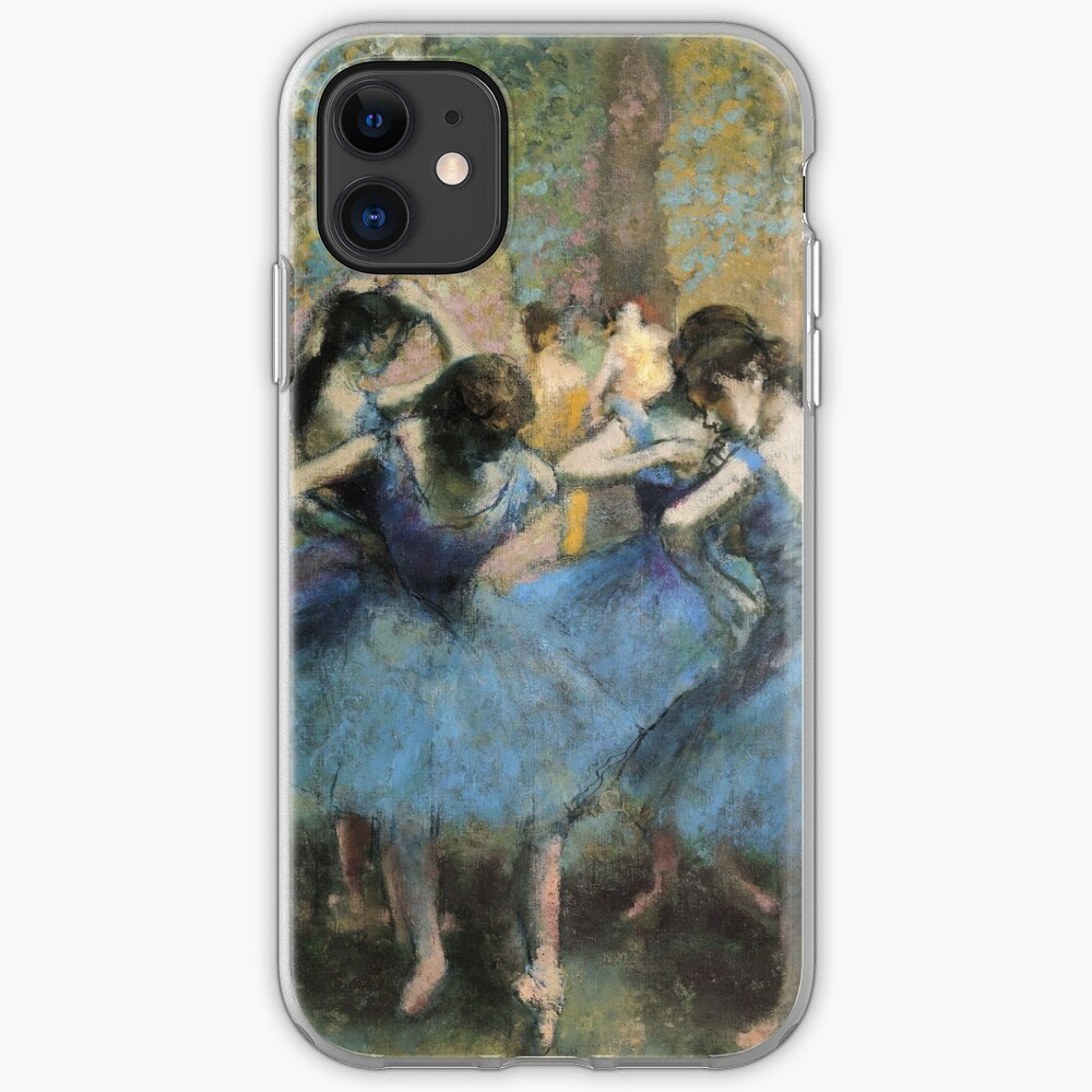 Edgar Degas - Dancers In Blue iPhone Case & Cover