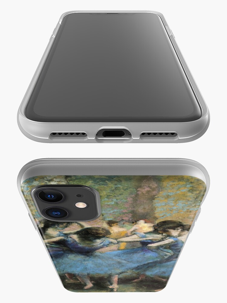 Alternate view of Edgar Degas - Dancers In Blue iPhone Case & Cover