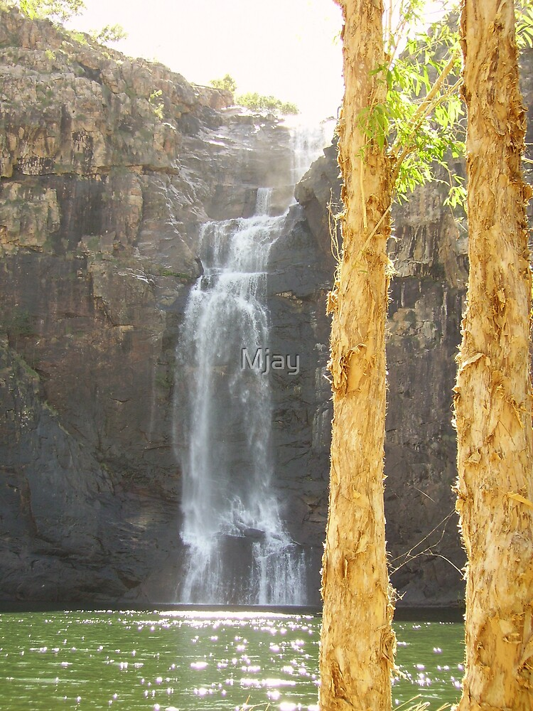 Kakadu Waterfall by Mjay