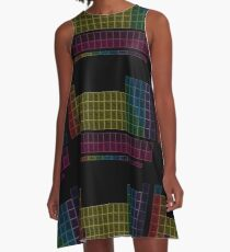 Muted Colors Periodic Table A-Line Dress