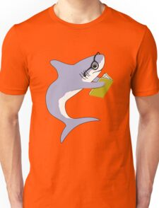 Reading Shark Unisex T-Shirt
