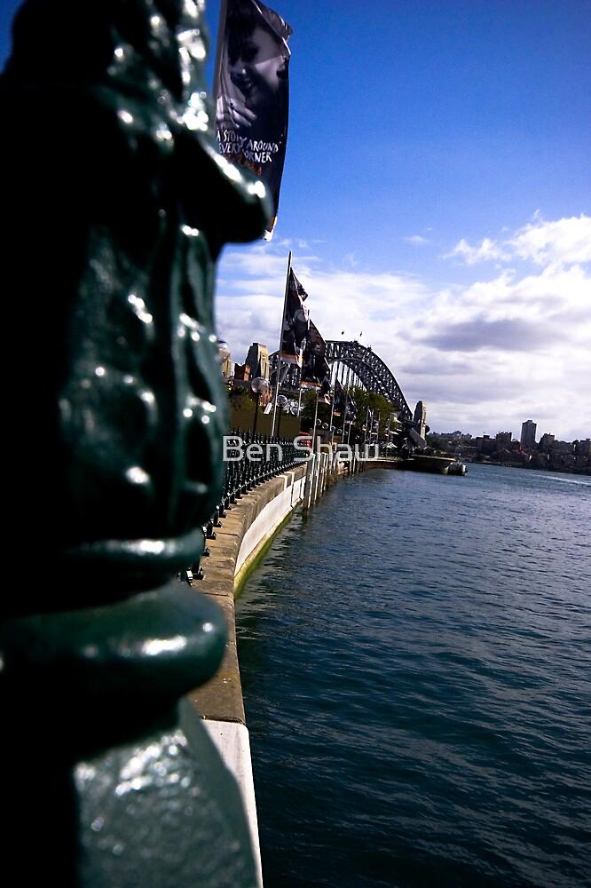 Sydney Harbour Bridge at a distance by Ben Shaw