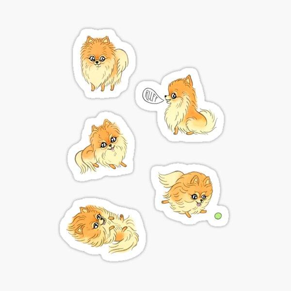 POMS! Sticker