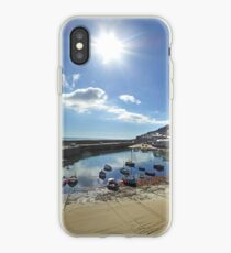 Mousehole Autumn Sun iPhone Case