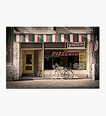 Pizzeria Photographic Print