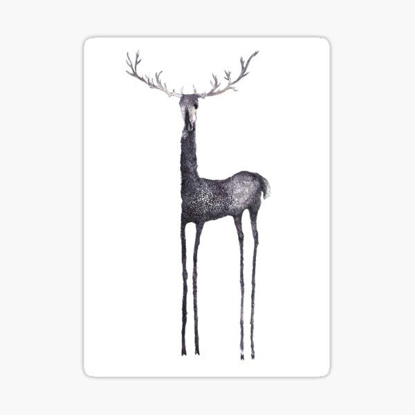 Dear, poor deer Pegatina