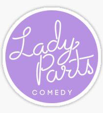 Lady Parts Lavender Logo Sticker