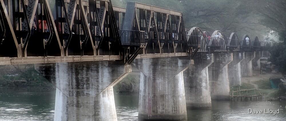River Kwai Bridge by Dave Lloyd