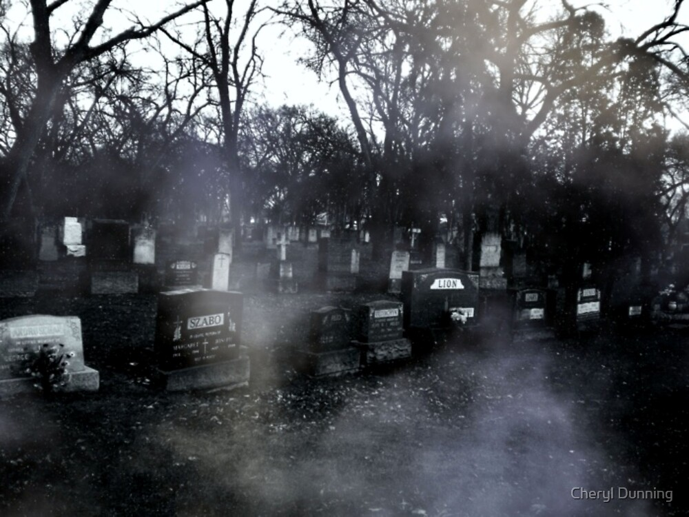 haunted graves by Cheryl Dunning