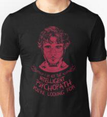 Hannibal - Intelligent Psychopath T-Shirt