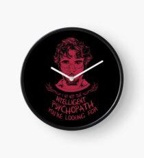 Hannibal - Intelligent Psychopath Clock