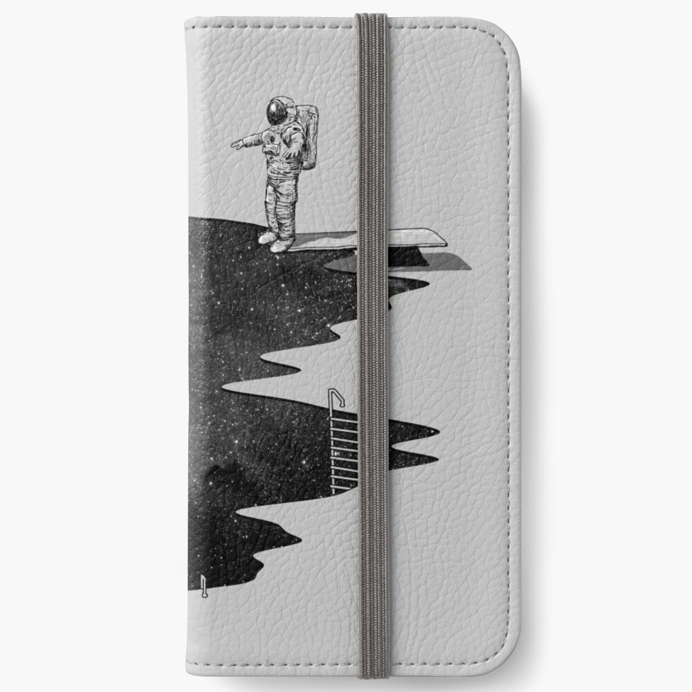 Space Diving iPhone Wallet