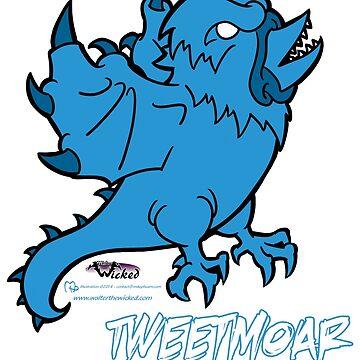 Tweetmoar - The Devourer of Time! by MikePHearn