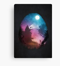 Young Astronomer Canvas Print