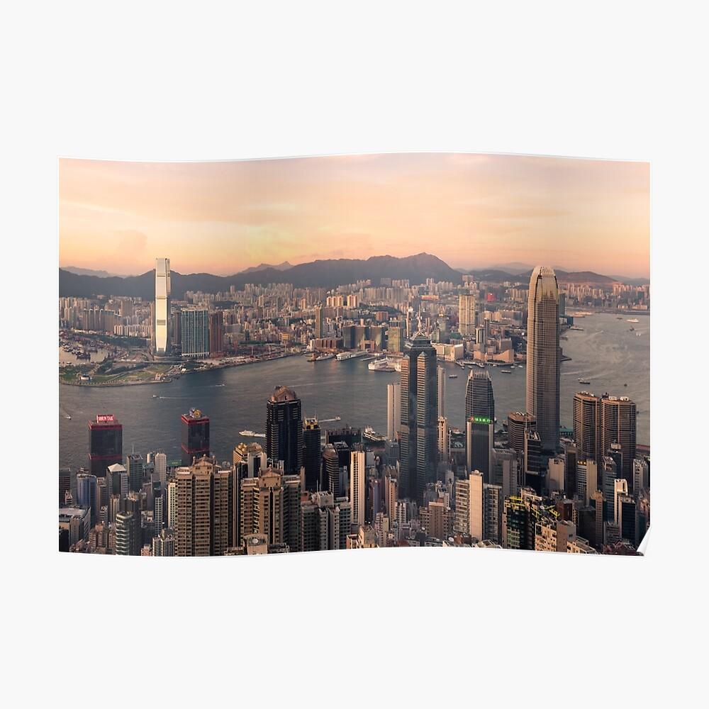 HONGKONG 08 Poster