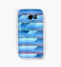 Blue plastic bars Samsung Galaxy Case/Skin