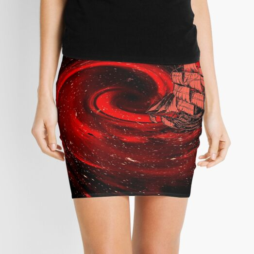 Journey to the Edge of the Universe Mini Skirt