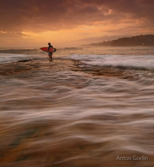 Wave Walking by Anton Gorlin
