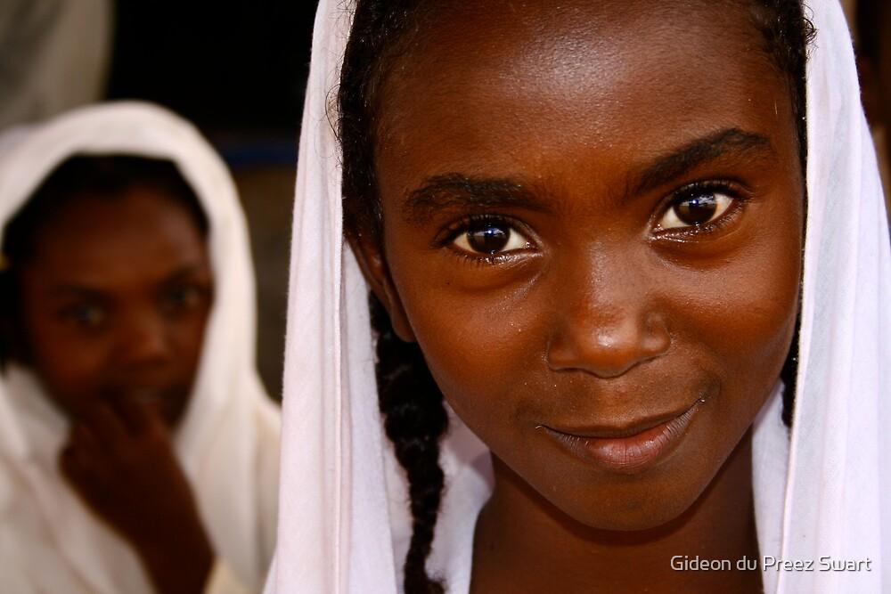 sudanese girl by Gideon du Preez Swart