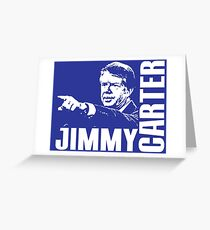 JIMMY CARTER Greeting Card