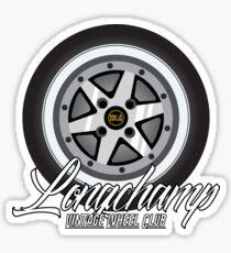 Longchamp Vintage Wheel Club Sticker